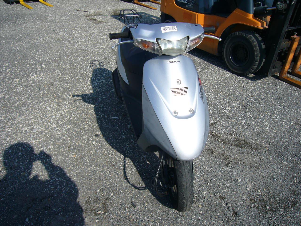 Ремонт скутера suzuki своими руками