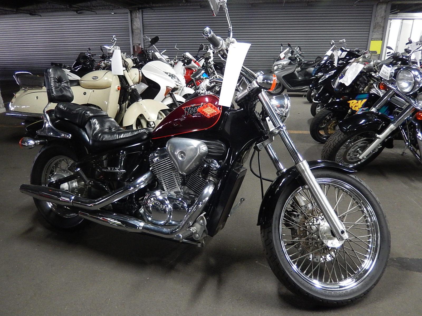 Фото разобранные мотоциклы хонда стид