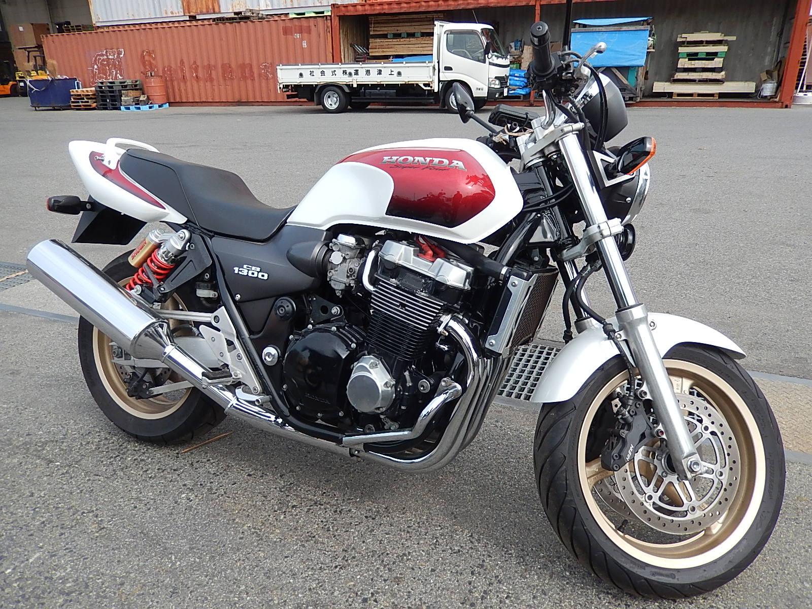 Honda cb 1300 разбор #6