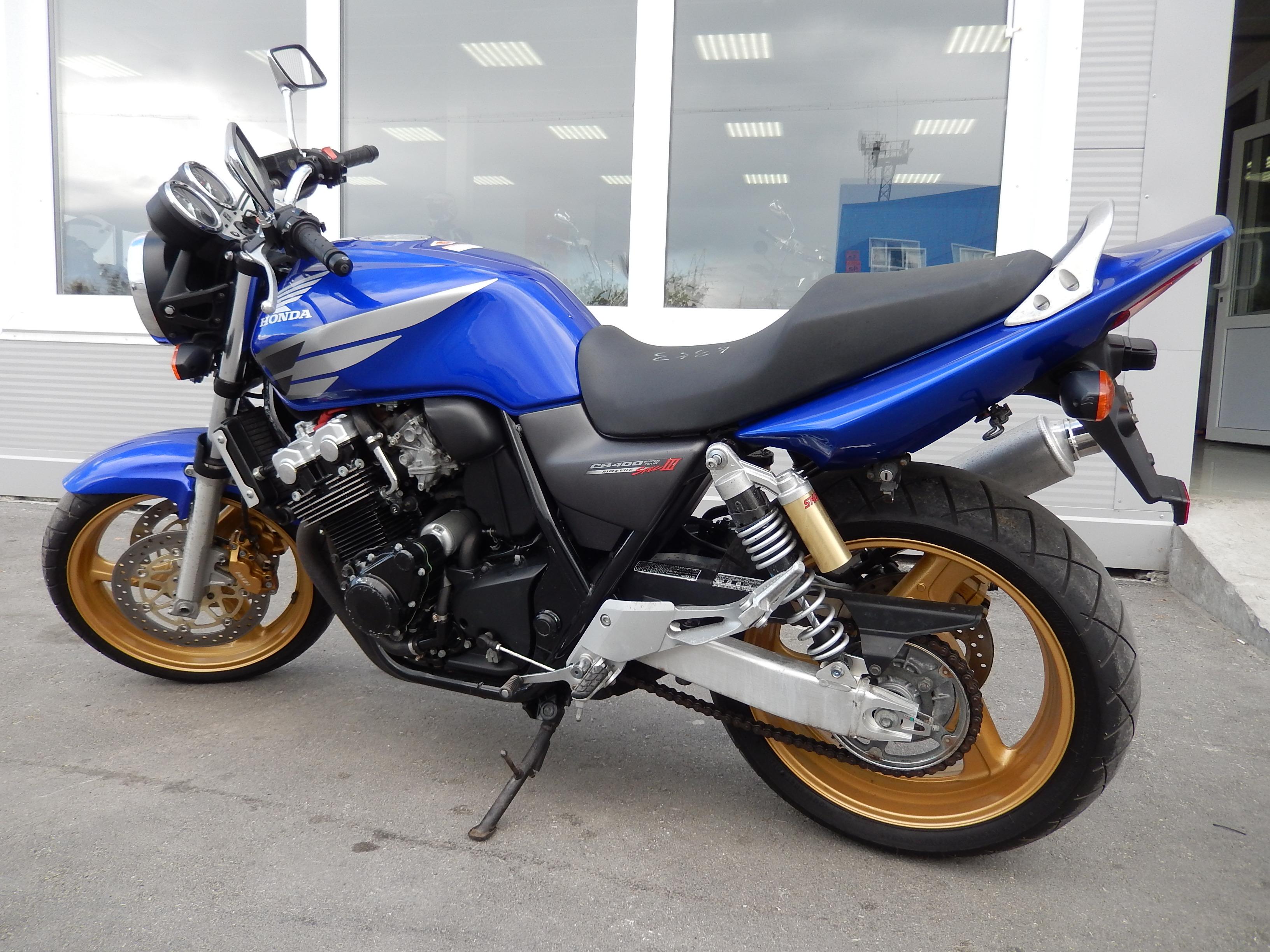 Мотоциклы Honda CB400 SF VTEC-3 - cemeco.ru